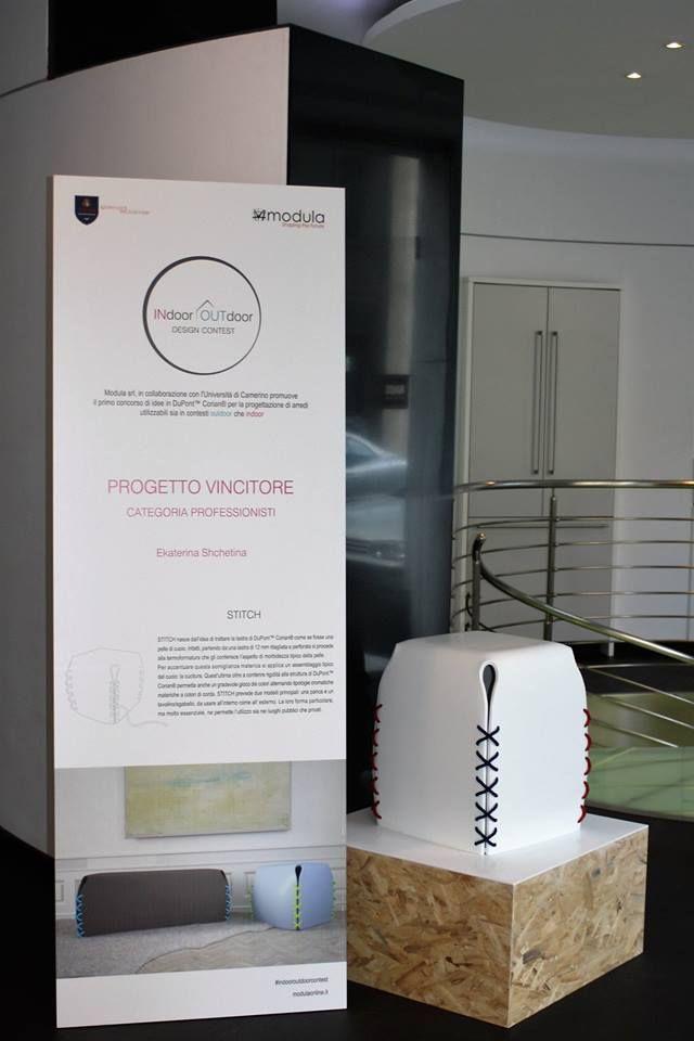 STITCH by Ekaterina Shchetina Winner Professionals #indooroutdoorcontest #modula #unicam