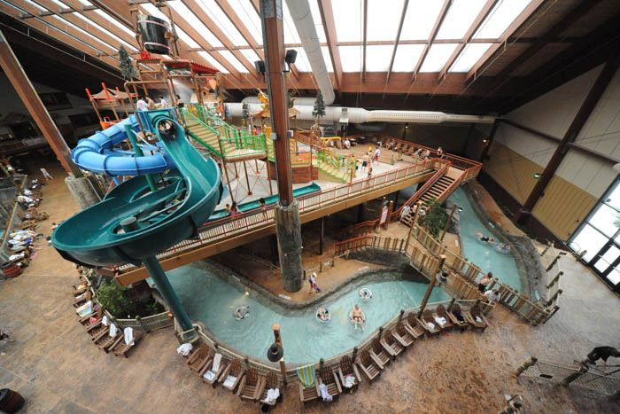 The Great Escape Lodge, indoor waterpark, Lake George, NY The Most Excitement At Upstate New York Indoor Water Parks & Hotels At Six Flags Great Escape Lodge!