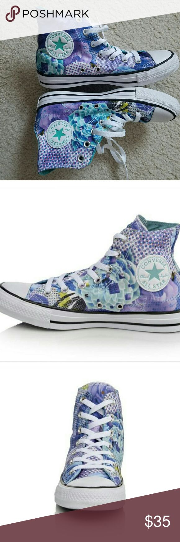 Brand new womens All star converse with box. Colorful womens All star converse. Converse Shoes Sneakers