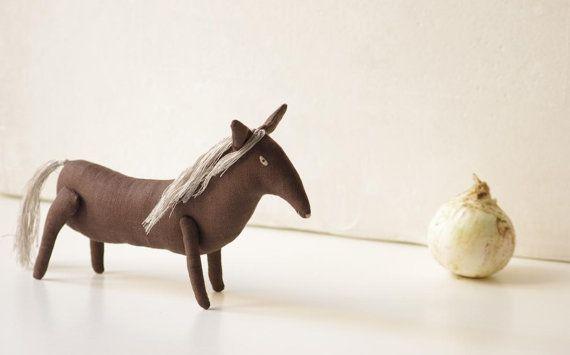 Trotter. Cavallo. Scultura di soft. di adatine su Etsy