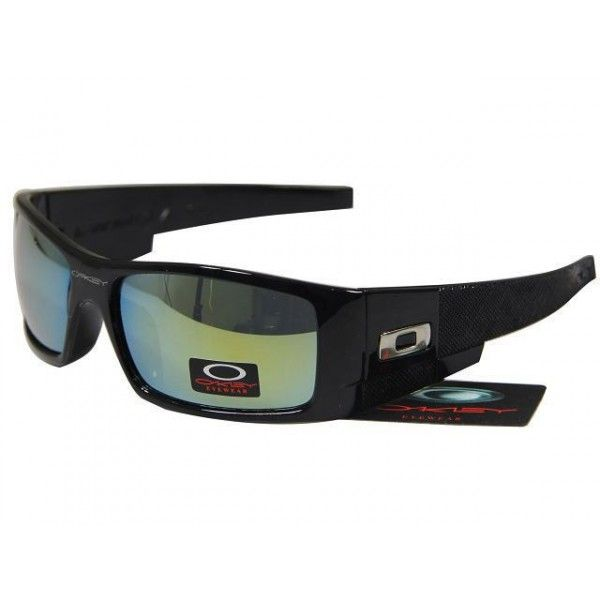 $15.99 Fake Oakley Gascan Sunglasses Yellow Blue Iridium Black Frames Store  Deals www.racal.