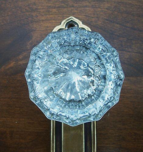 31 best Door knobs images on Pinterest | Crystal door knobs, Antique ...