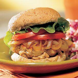 Turkey Burger Recipes   Quick-and-Easy Turkey Burgers   CookingLight.com