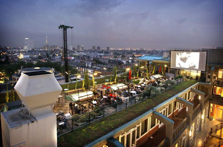 Rooftop terras Cafe Engels - Rotterdam