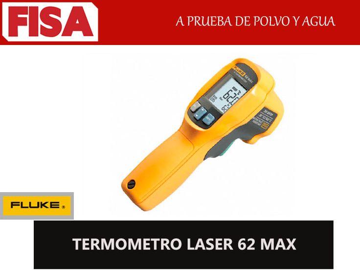 TERMOMETRO LASER 62 MAX- A prueba de polvo y agua -FERRETERIA INDUSTRIAL -FISA S.A.S Carrera 25 # 17 - 64 Teléfono: 201 05 55 www.fisa.com.co/ Twitter:@FISA_Colombia Facebook: Ferreteria Industrial FISA Colombia