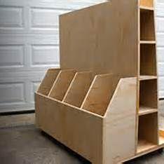 Making a Lumber Storage Rack