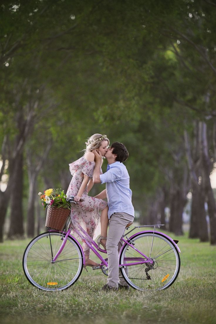 Engagement Photography. Vintage themed photoshoot. Vintage bike. couple photoshoot. Love. Photography