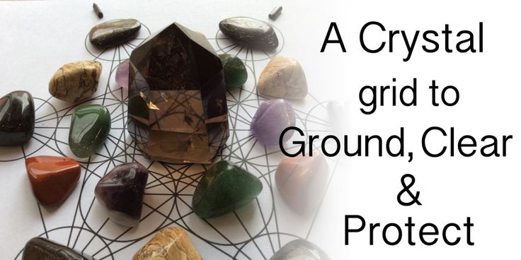 A Crystal Grid to Clear Space for a New Start  Crystal grids are powerful tools for change that combine crystals, sacred geometry, and intention for measurable results. You can create a crystal grid for almost any reason.