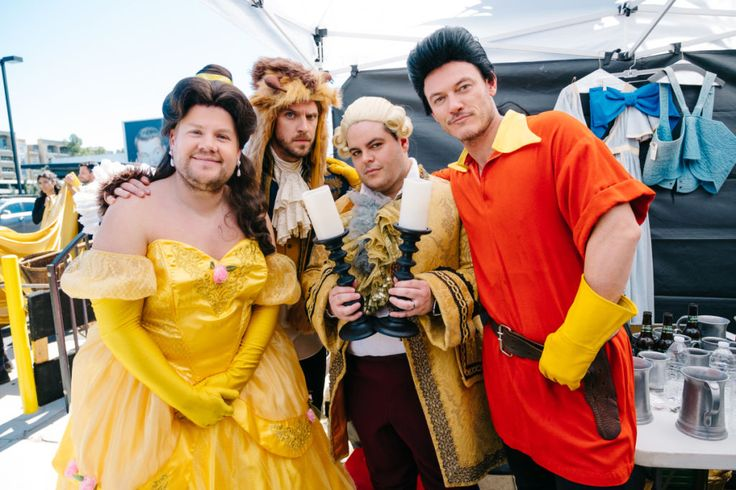 """James Corden as Belle in a Crosswalk Musical Version of """"Beauty and the Beast"""" is the Funniest Thing You'll See Today"""