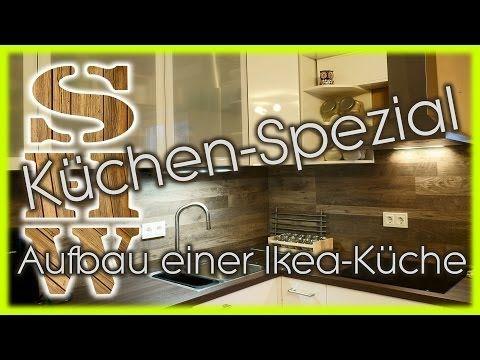 Superb DIY Aufbau einer IKEA K che komplett IKEA kitchen setup plete