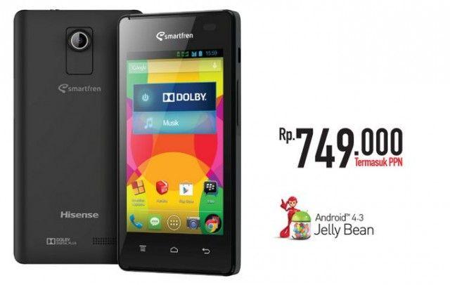 Spesifikasi dan Harga Smartfren Andromax C2 , Android Dual Core Murah