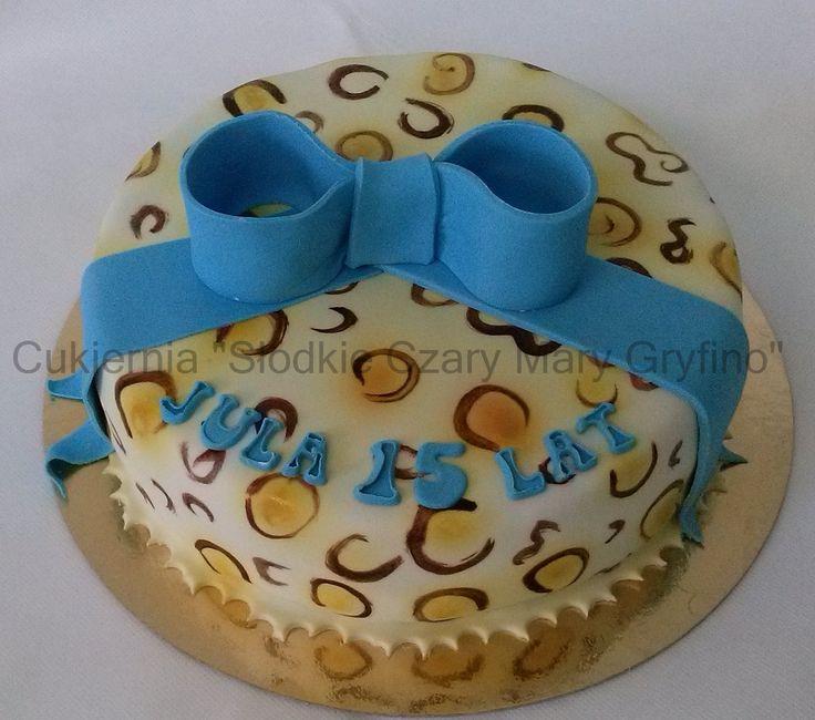 Tort w cętki