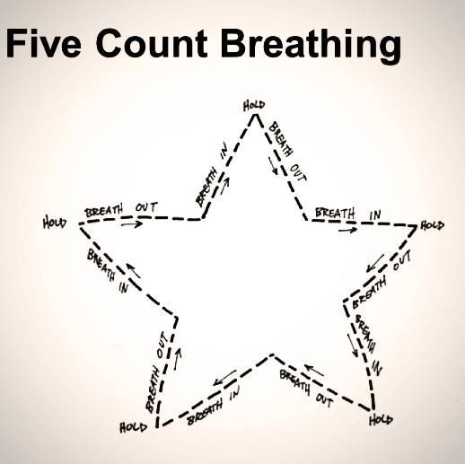 brilliant idea to help kids focus on the breath - it combines focus, some brain gym (movement of the eyes) and using shapes (which can be healing in themselves).  Enjoy with your kids!  (ps think this would be particularly helpful for kids with autism.