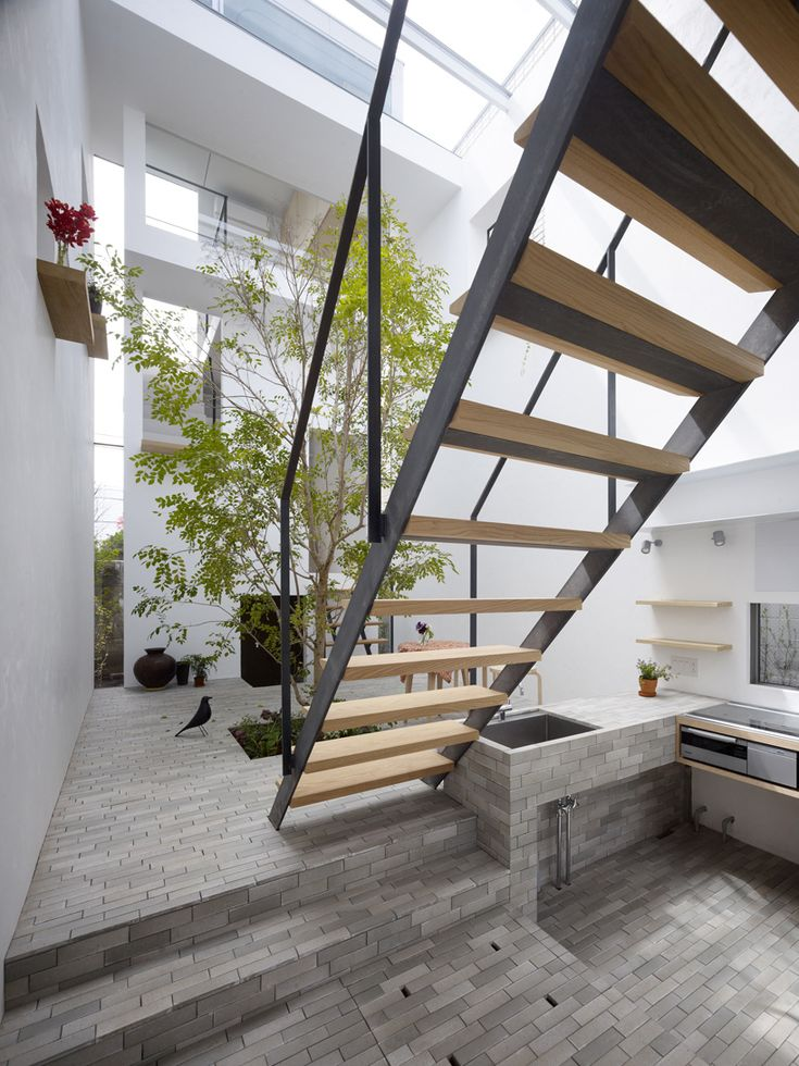 Garden Room   Minna No Ie Is A House That Combines Clean Design With A  Natural Touch, Located In Tokyo, Japan, Designed By Japanese Mamm Design.