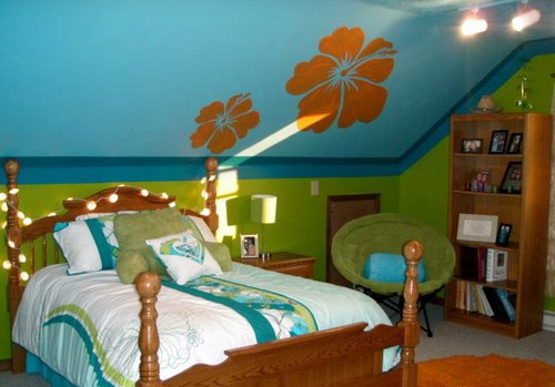 tropical theme kids rooms