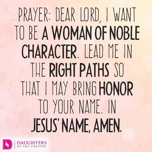 Daily Devotional -A Woman of Noble Character: http://daughtersofthecreator.com/woman-noble-character/