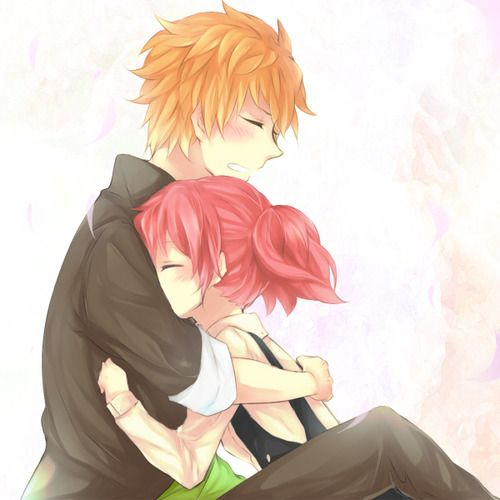 Anime For > Anime Hug Tumblr | anime couple | Pinterest ...