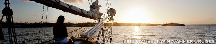 Liberty Fleet Windjammer Cruises | Caribbean Tall Ship Sailing Cruises