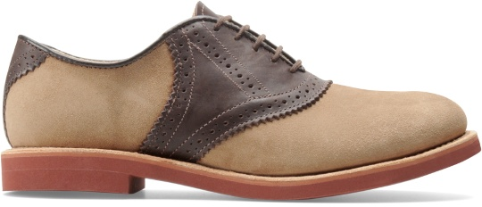 Walk-Over Men's Saddle in Dirty Buck Suede/Chocolate Saddle #shoes #greatgatsby #kentuckyderby