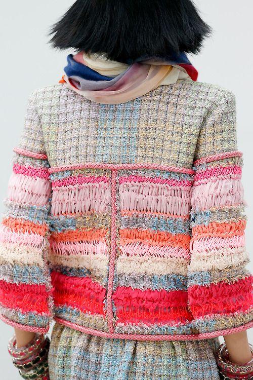 alex-quisite: Chanel Spring 2014 PFW (via the absolute... - fuckyeahfashionknitwear