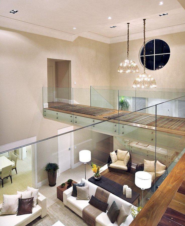#quitetefaria  guarda corpo de vidro, vidro, casa decorada