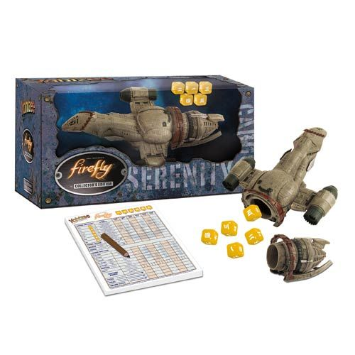 Firefly Collector's Edition Yahtzee Game (Serenity)