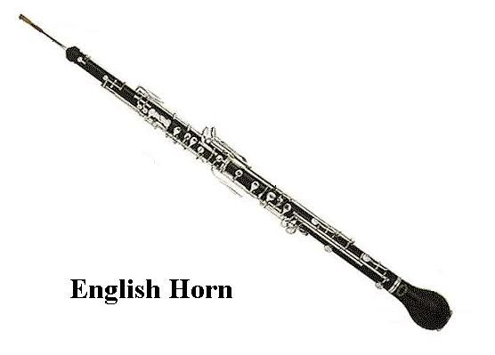 English Horn The Alto Voice In The Double Reed Family Of