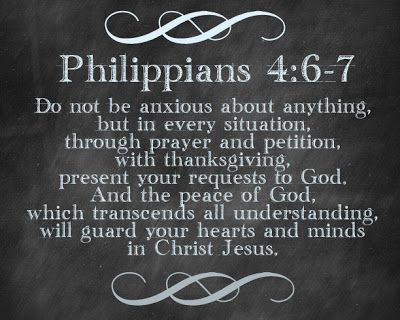 Phil 4:6-7 ~ Don't be anxious about anything ~ In the name of Jesus Christ, Amen! <3