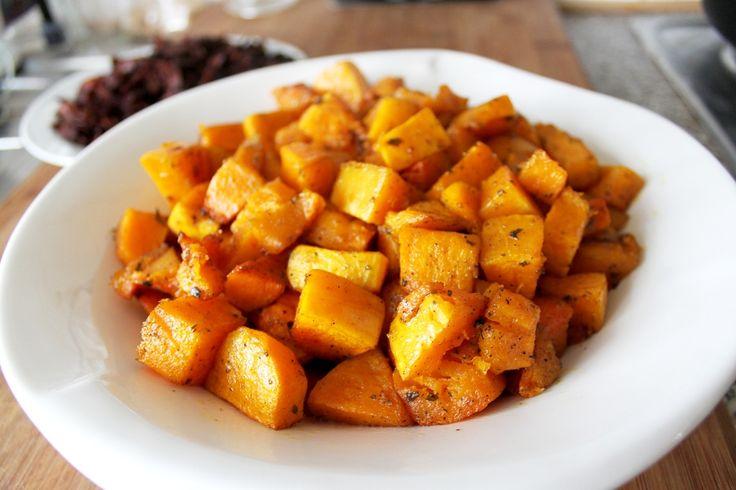 This Vegan's Life Blog: Rezept: Gerösteter Butternut-Kürbis