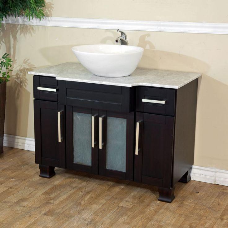Bellaterra Home 604023C Single Sink Bathroom Vanity