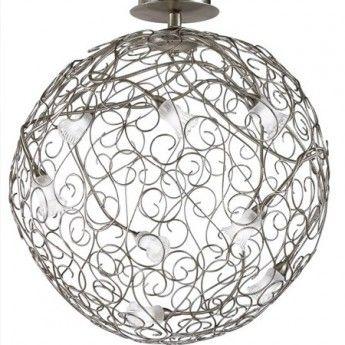 Nowoczesna lampa wisząca z serii Magie #Magie #Fallb #plafon #włoskie_lampy #oświetlenie #design #salon #nowoczesne_lampy #lampy_kraków #abanet #abanet#kraków