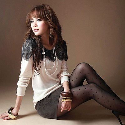 Fashion Summer Tops Womens Ladies Loose Casual Sexy Lace T Shirt Cotton Blouse