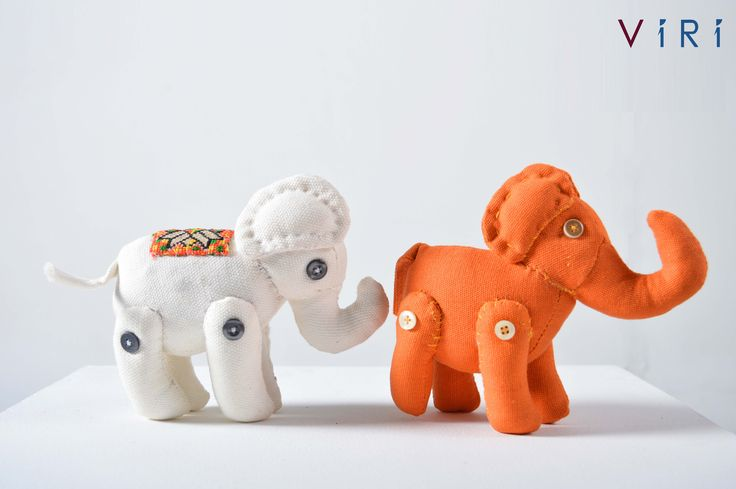 Stuffed toys - Elephants set #VIRI #KIDS #TOYS #ANIMALS