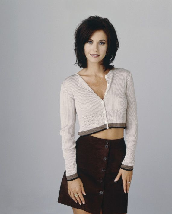 Courteney Cox as Monica Geller on Friends | 21 TV Characters That Could Have Been Completely Different.... NOPE NOPE NOPPITY NOPE