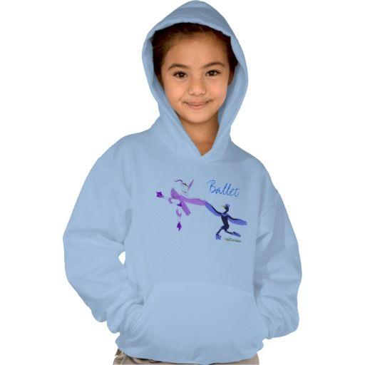 Ballet Hoodie for girls