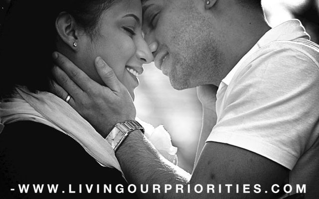 The Opened Mouth Kiss - Living Our Priorities | Living Our Priorities