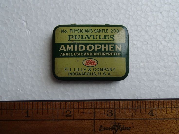 Vintage Eli Lilly Pharmaceutical Medicine Sample Tin | eBay