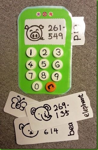 [number recognition] DIY mobile phone with a screen and phone book