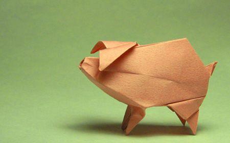 Animales de origami