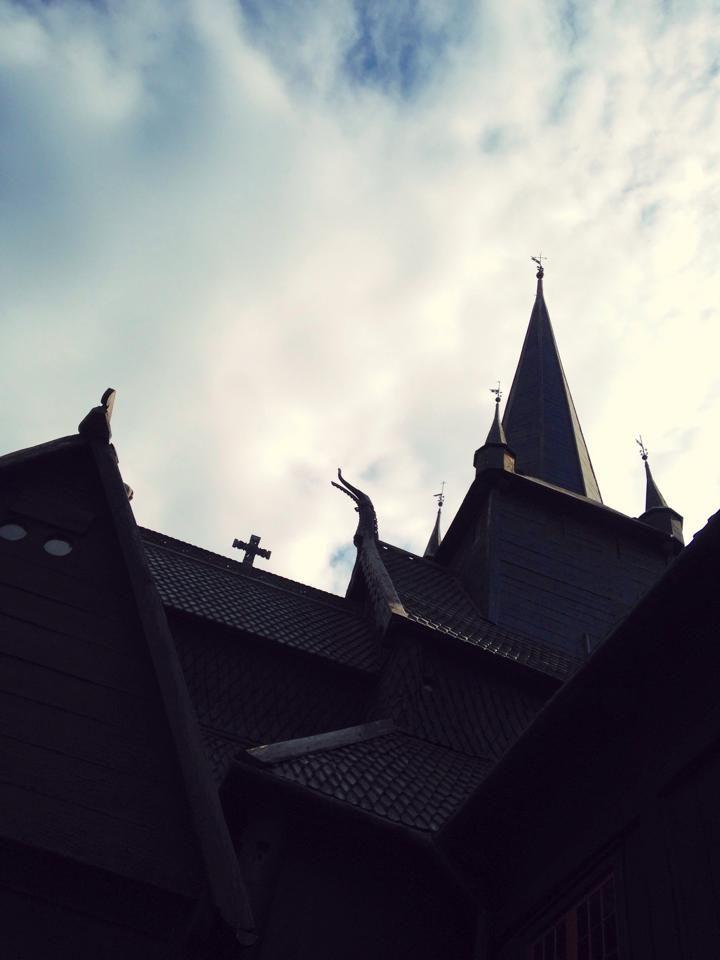 Church in Lom, Norway