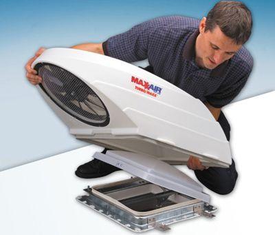 How To Install The Maxxair Turbo Maxx Rv Roof Fan Gmc