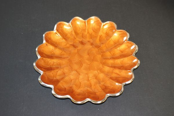 Artisan d'Orient - Petite Blossom Orange Plates (4 - Pack)