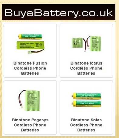 Cordless phone rechargeable batteries can often be hard to find. The store the phone is purchased from does not usually carry replacement batteries, so being able to find the correct battery from a website like Buy A Battery makes it possible to avoid buying a brand new phone.
