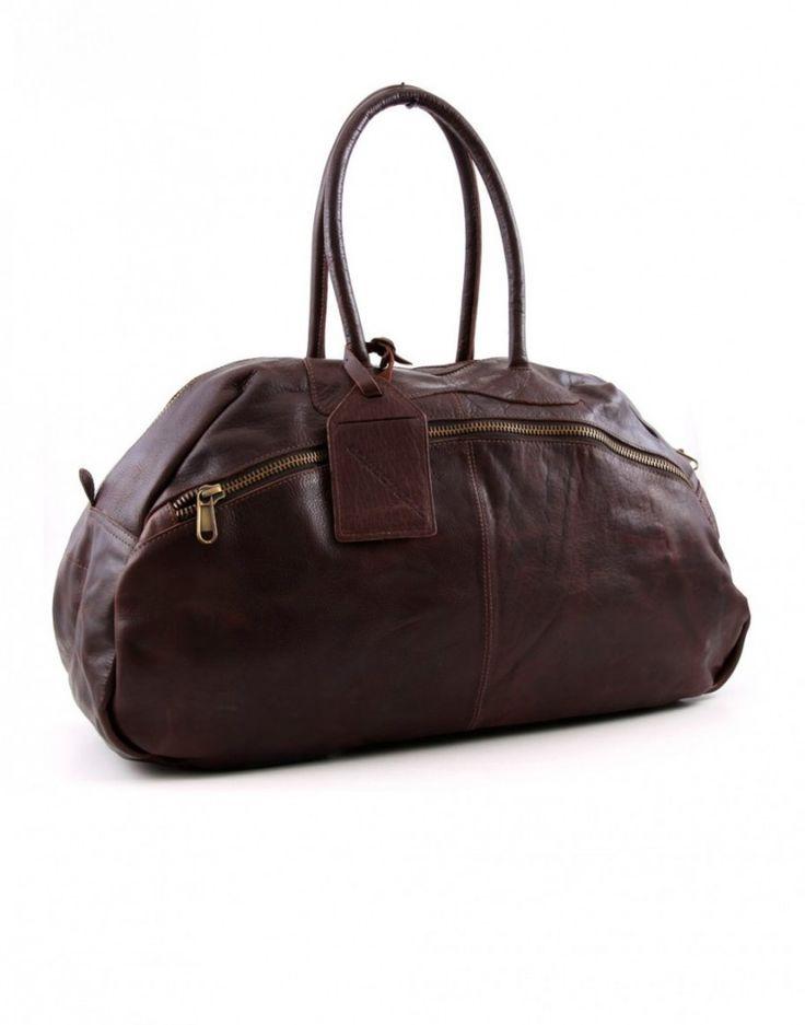 #sac #cuir #bag #leather #brown #fashion #menswear