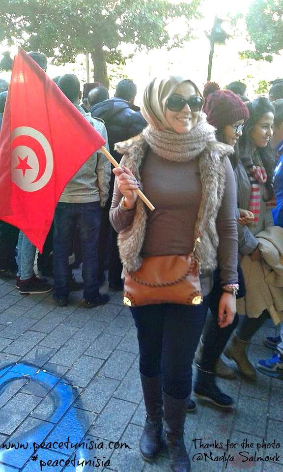 5th anniversary of the Tunisian revolution in Tunis