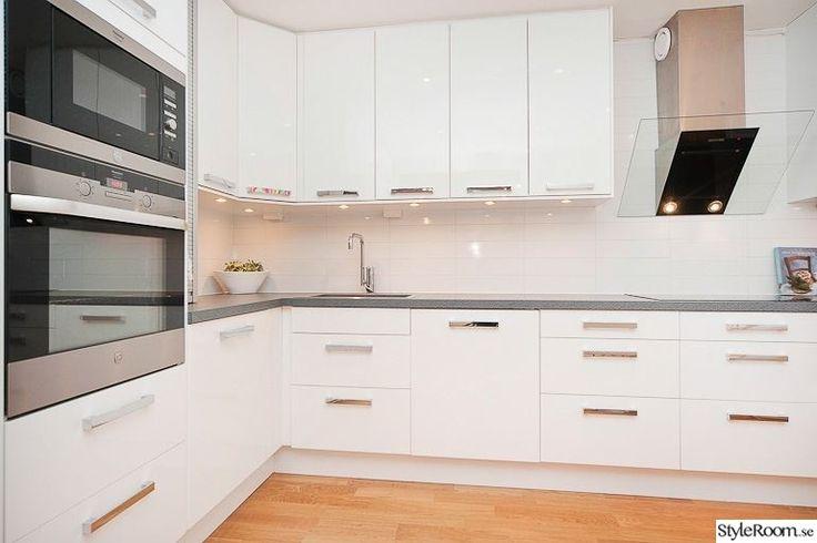 White IKEA kitchen with Perstorp virrvarr