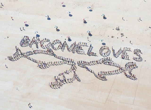 A great turnout with over 500 people joining us on Broome's Cable Beach to celebrate our Kimberley Humpback whales. www.kimberleywhales.com.au