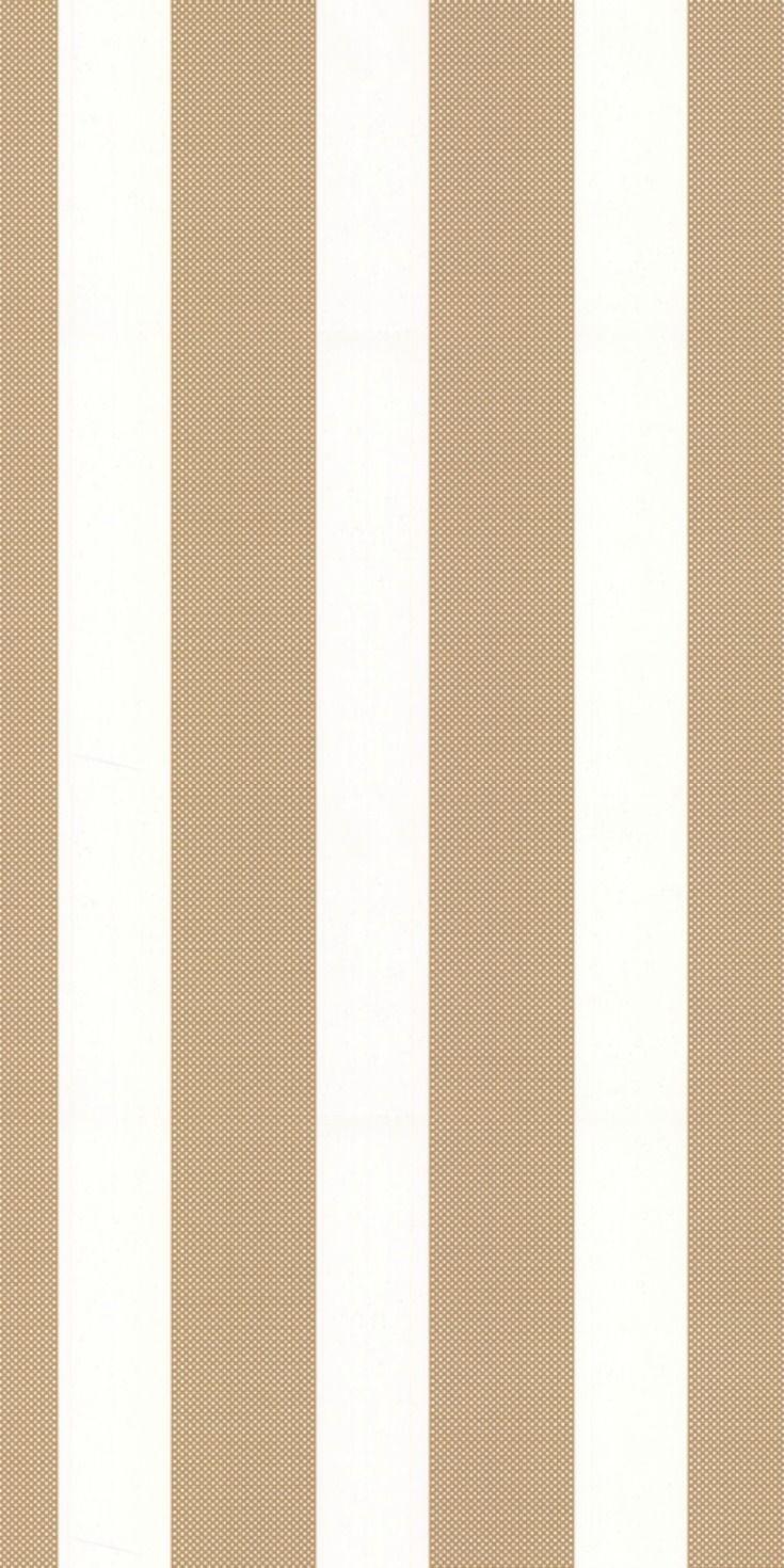 Fabulous gold stripe wallpaper design by Kate Spade.