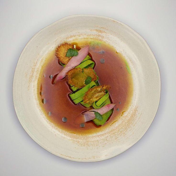Heinz Reitbauer (Steirereck**) Mushroom dish 4 Chef