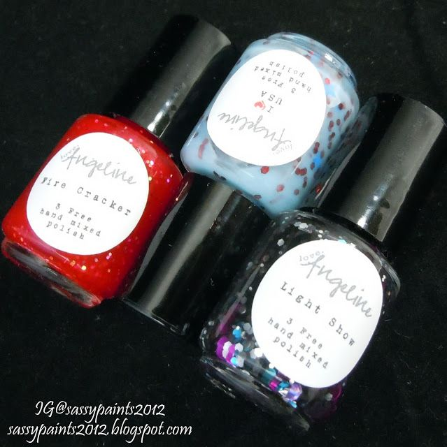 Sassy Paints: Independence Collection Review